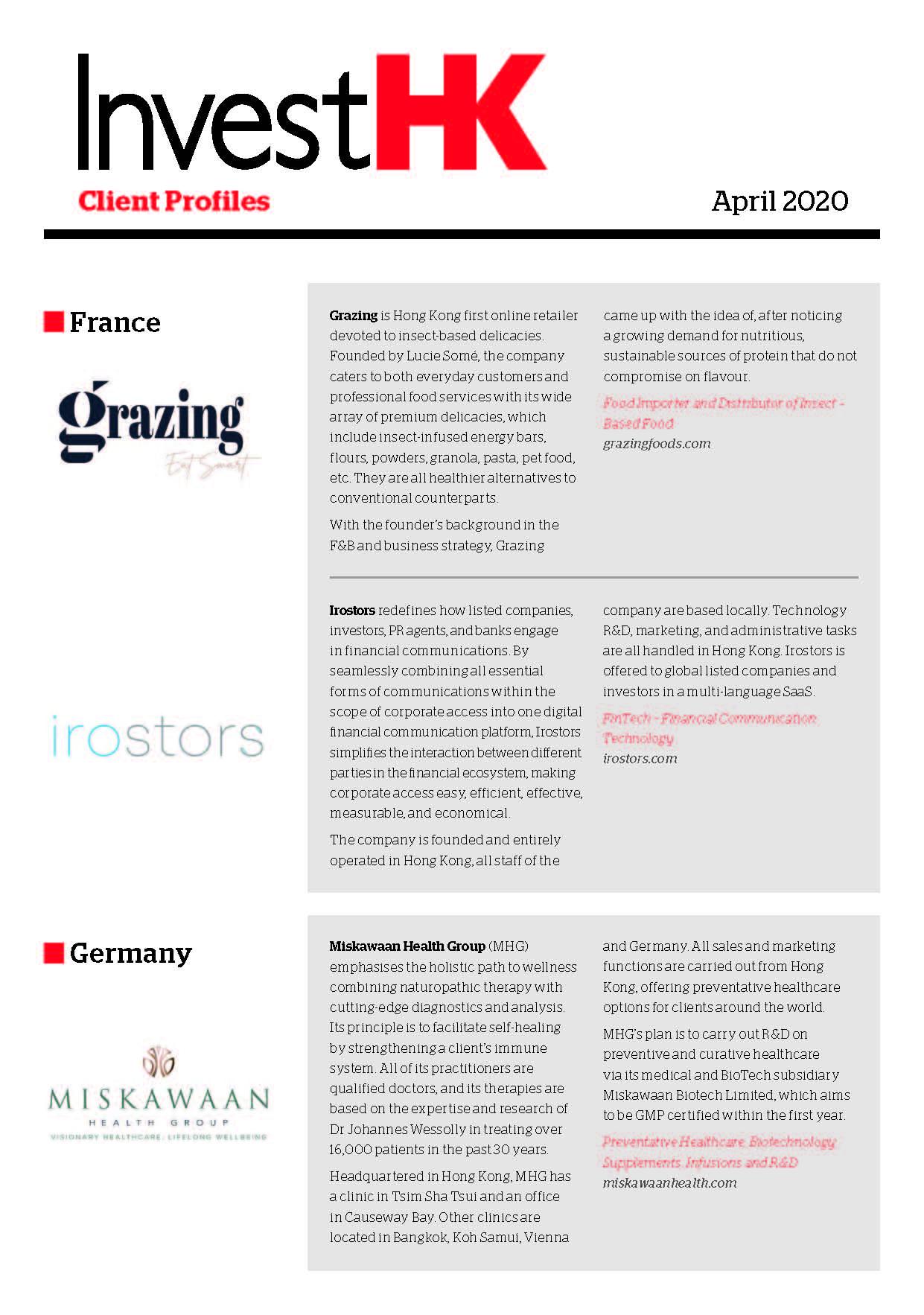 2020.04 Client Profiles-en Cover