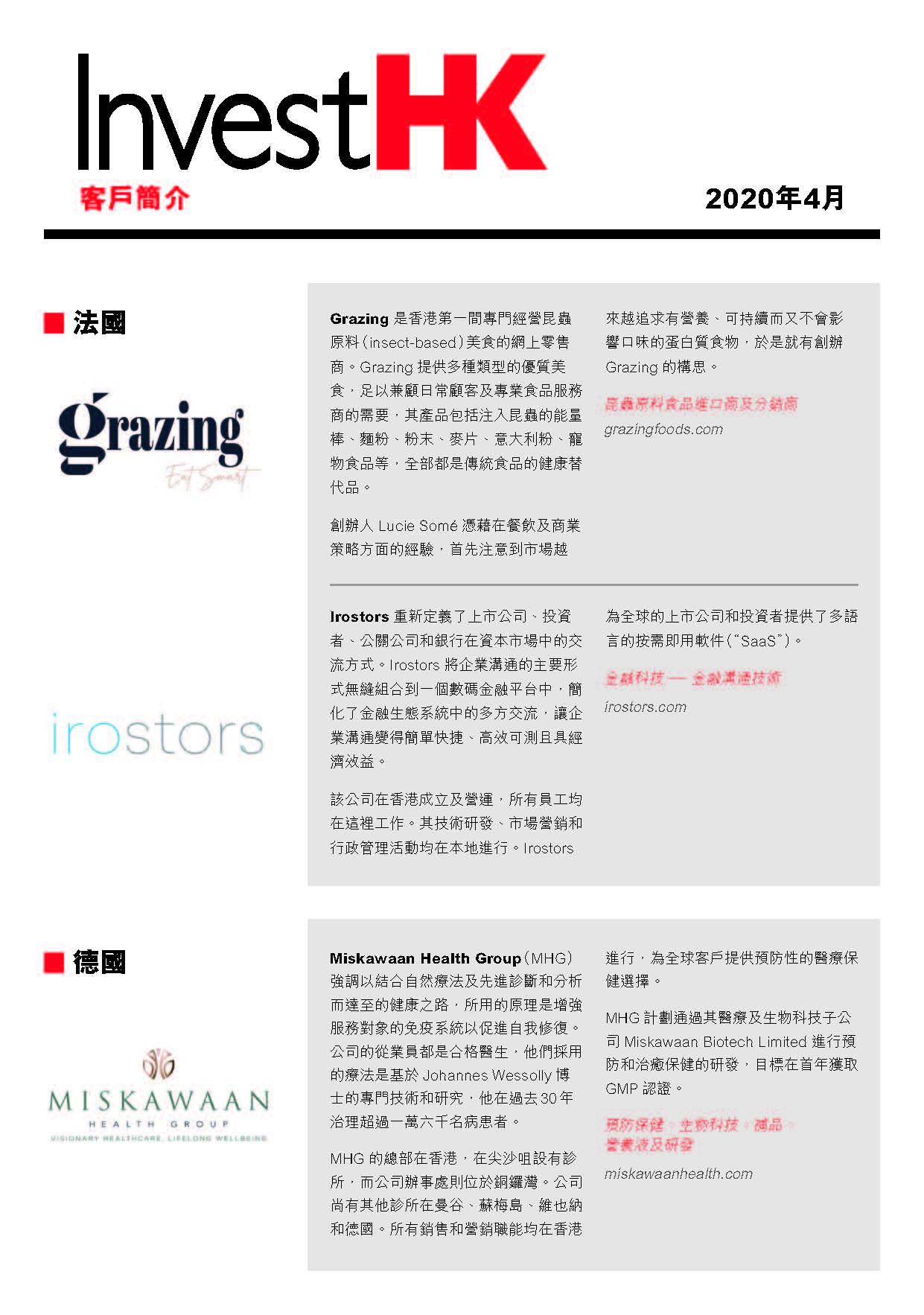 2020.04 Client Profiles-tc Cover